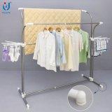 Cremalheira usada de Clothesd para a cremalheira vertical do gancho de roupa da venda