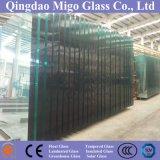 hoja del vidrio de flotador del claro de 8m m/vidrio destemplado