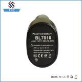 батарея електричюеского инструмента Li-иона 7.2V 1.5ah для Makita Bl7010