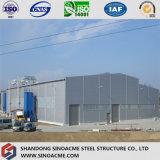 Construction industrielle de structure métallique avec les étages multi