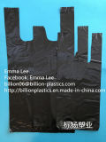 Saco de portador do saco do t-shirt do saco dos desperdícios do saco de lixo do saco do reforço do saco de compra do Polybag