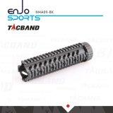 Tacband M4 resistente Quadguard carriles del flotador libre W/Picatinny de 9 pulgadas