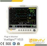 Monitor paciente enchufable de Vuesigns Vs15