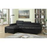 Wk-F2019 Aparement Wohnzimmer-Leder-Sofa Furniture