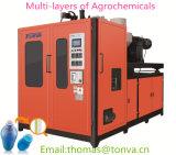 Agrochemicals 병을%s 다중 층 중공 성형 기계