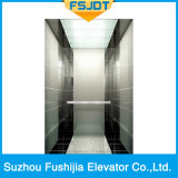 Ascenseur luxueux de passager du chargement 1000kg avec l'acier inoxydable de miroir (FSJ-K24)
