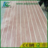 Surco/MDF comercial de la madera contrachapada/de la melamina de la ranura para la decoración