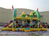 Campo de juegos inflables de infantería para niños / juegos infantiles inflables al aire libre