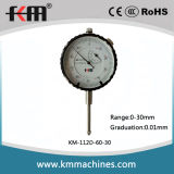DIN878 0-30mm 측정 범위 및 0.01mm 눈금을%s 가진 표준 다이얼 표시기