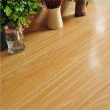 Rétro motif de bois foncé Mulit-Color PVC Gloss Floor