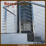Inferriata elegante del cavo dell'acciaio inossidabile di disegno per la scala (SJ-S327)