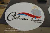 Corian fêz o logotipo do salão de beleza do restaurante da loja do café da placa do sinal