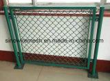 Sailin Belüftung-überzogener Kettenlink-Zaun für Haus
