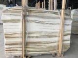 Pedra branca do mármore de Onyx do jade do arco-íris do produto novo