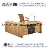 주문을 받아서 만들어진 나무로 되는 가구 MFC 관리 사무소 테이블 (D1609#)