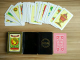 40 cartões de jogo plásticos espanhóis do PVC dos cartões
