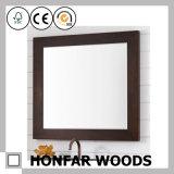 Quadro do espelho da madeira contínua de Brown da esteira para o restaurante
