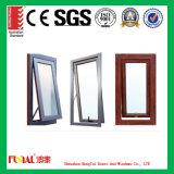 Окно тента деревянного цвета алюминиевое