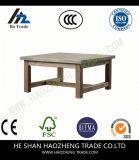 Hzct032都心のコーヒーテーブルは家具に金属をかぶせる