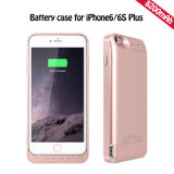 Chargeur de batterie portable Chargeur de secours Power Case pour iPhone 6 6s Plus