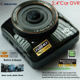 Gセンサー、動きの検出車のブラックボックス、5.0mega 170degreeの視野角車のカメラ、デジタルビデオレコーダーDVR-2414で構築される新しく完全なHD1080p車DVR