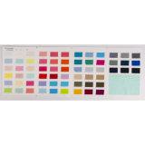 stof van Spandex van de Kleur van jaren '60 Cotton/T400 de Zuivere voor Kledingstuk