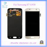 para a tela do LCD do telefone da galáxia para Samsung S7 LCD Displayer