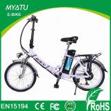 Ville de 20 pouces pliant la bicyclette électrique avec le modèle Ys-F0720