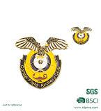 Le métal fait sur commande ouvre le Pin d'aile et les insignes militaires