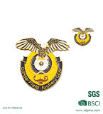O metal feito sob encomenda Crafts o Pin da asa e emblemas militares