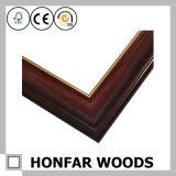 Bâti en bois rouge de photo de type chinois pour la décoration à la maison