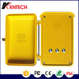 屋外の非常電話の防水電気通信Knsp-04の速度のダイヤルボタンKntech