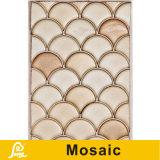 De hete Shell van de Verkoop Tegel van het Mozaïek van het Ontwerp van de Kunst van de Vorm Ceramische voor Reeks van de Kunst van de Decoratie van de Muur de Ceramische (Ceramische Kunst A01/A02/A03)