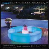 Couleur lumineuse par plastique de PE changeant des meubles de barre de DEL