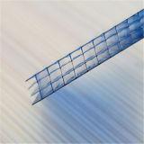 Strato trasparente del policarbonato della parete da 10 anni multi