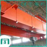 오두막 통제 두 배 대들보 천장 기중기를 사용하는 작업장