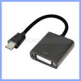 USB 3.1 Type C a DVI Female Adapter Cable Converter