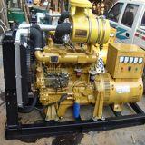100kwはタイプ携帯用ディーゼル発電機の水によって冷却される海洋のディーゼル発電機を開く