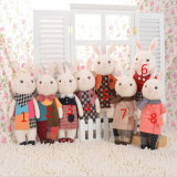 30cm Lovely Stuffed Customzied Plush Lapin / Rabbit / Bunny Mascots Toy