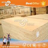 Panneau commercial de bloc/peuplier stratifié de Blockboard de mélamine, faisceau de pin