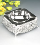 Plateau de cendre de Silverplated (YA14401BL)
