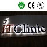 광고를 위한 주문을 받아서 만들어진 LED 정면 분명히된 채널 편지 표시