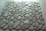 普及した狂気の石造りの不規則なスレートの敷石