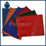 Tejido recubierto de PVC de poliéster para el bolso y el equipaje Tb034