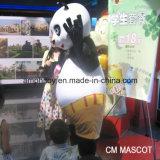 Traje animal da mascote da panda muito popular de Kungfu para o desgaste