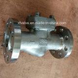 API602 F304/F316/F304L/F3016L forjó la válvula de verificación de acero del borde