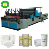 Preço da máquina da produção do papel de toalha do rolo do rebobinamento da alta velocidade de Full Auto