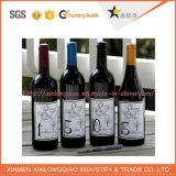 Collants personnalisés d'étiquette adhésive de bouteille de vin d'impression d'étiquette pour le mariage