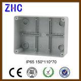 120 * 80 * 50 impermeável exterior caixa de encaixe de plástico plástico com Screw-Down Coner