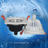 3years Warranty를 가진 둥근 9W IP65 LED Downlight